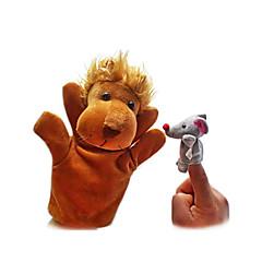 Pacynka na palec Zabawki Lew Zabawki Nowość Dla chłopców Dla dziewczynek Sztuk
