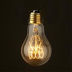 halpa Tarjoukset-40w 2700k vintage edison polttimo a19 antiikki filamente tyyli hehkulamppuja medium (ac220-240v)