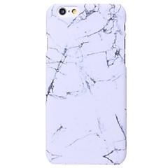 Недорогие Кейсы для iPhone X-Назначение iPhone X iPhone 8 iPhone 6 iPhone 6 Plus Чехлы панели Other Задняя крышка Кейс для Мрамор Твердый PC для Apple iPhone X iPhone