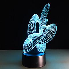 preiswerte Ausgefallene LED-Beleuchtung-1 Stück 3D Nachtlicht USB Dekorativ 5 V