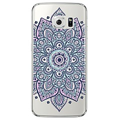 Για Samsung Galaxy S7 Edge Διαφανής / Με σχέδια tok Πίσω Κάλυμμα tok Μάνταλα Μαλακή TPU SamsungS7 edge / S7 / S6 edge plus / S6 edge / S6