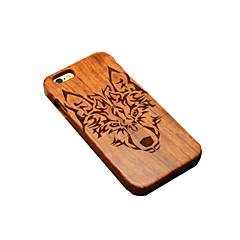 Для Кейс для iPhone 6 Кейс для iPhone 6 Plus Чехлы панели С узором Задняя крышка Кейс для Животное Твердый Дерево дляiPhone 6s Plus