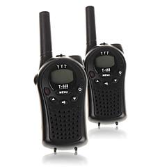 お買い得  トランシーバー-T668446 トランシーバー ハンドヘルド 電池残量不足通知 VOX 暗号化 CTCSS/CDCSS バックライト LCD スキャン 監視 3KM-5KM 3KM-5KM 22 Channels AA alkaline battery 0.5W トランシーバー 双方向ラジオ