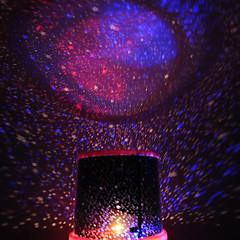 색상 변경 스타 뷰티 별이 빛나는 하늘 프로젝터 야간 조명