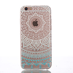 halpa iPhone 5 kotelot-Etui Käyttötarkoitus Apple iPhone 6 iPhone 6 Plus Other Takakuori Mandala Pehmeä TPU varten iPhone 6s Plus iPhone 6s iPhone 6 Plus iPhone