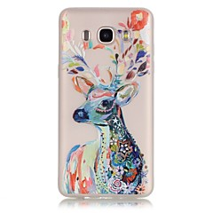 お買い得  Samsung その他の機種用ケース/カバー-ケース 用途 Samsung Galaxy Samsung Galaxy ケース 蓄光 クリア バックカバー 動物 ソフト TPU のために J7 (2016) J5 (2016) J3 (2016) J1 (2016) Grand Prime Grand Neo Core