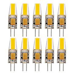preiswerte LED-Birnen-10 Stück 1.5W 150-200lm G4 LED Doppel-Pin Leuchten T 1 LED-Perlen COB Wasserfest Dekorativ Warmes Weiß Kühles Weiß Natürliches Weiß