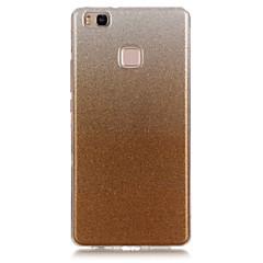 voordelige Hoesjes / covers voor Huawei-terug IMD Glitterglans TPU Zacht IMD Geval voor Huawei Huawei P9 Lite / Huawei P8 Lite / Huawei Y6/Honor 4A / Huawei Honor 4C
