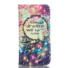 olcso Galaxy A5 tokok-Case Kompatibilitás Samsung Galaxy Samsung Galaxy tok Kártyatartó Pénztárca Állvánnyal Héjtok Virág Puha PU bőr mert A3 (2017) A5 (2017)