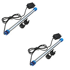 abordables Nouveautés Lampes LED-3W 4-pin Lumières LED Aquarium Tube 27 LED SMD 2835 Imperméable Décorative Blanc Froid Bleu 300-400 AC 110-130 AC 100-240V
