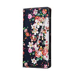Для Кейс для Sony / Xperia Z5 Бумажник для карт / Кошелек / Защита от удара / Защита от пыли / Стразы / со стендом / Флип Кейс для Чехол