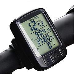 お買い得  サイクルコンピューター-A234 サイクルコンピューター バックライト 温度測定器具 滑り止め オドメーター Av - 平均速度 Dst - 走行距離 レクリエーションサイクリング サイクリング / バイク 折り畳み自転車 マウンテンバイク サイクリング