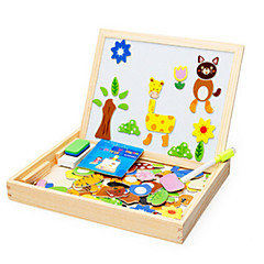 abordables Puzzles-Rompecabezas Juguete Educativo Bloques de construcción Juguetes de bricolaje