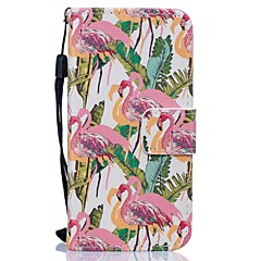 Для Кейс для iPhone 6 / Кейс для iPhone 6 Plus / Кейс для iPhone 5 Кошелек / Бумажник для карт / со стендом Кейс для Чехол Кейс для