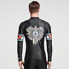 SBART Heren Wet Suits waterdicht Ultra-Violetbestendig Compressie Zonbescherming Neopreen Duikpak Lange mouw Duikpakken-Zwemmen Duiken
