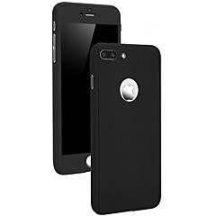billige iPhone 5-etuier-Etui Til Apple iPhone X iPhone 8 Stødsikker Andet Fuldt etui Ensfarvet Hårdt PC for iPhone X iPhone 8 Plus iPhone 8 iPhone 7 Plus iPhone