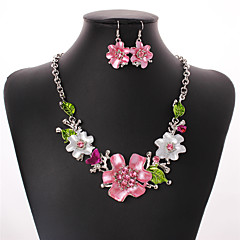 Women's Jewelry Set Drop Earrings Statement Necklaces Elegant Fashion European Festival/Holiday Euramerican Wedding Party Daily Casual
