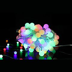 preiswerte LED Lichtstreifen-5m Leuchtgirlanden 40 LEDs LED Diode Warmes Weiß Fernbedienungskontrolle / Abblendbar / Verbindbar 5 V / Farbwechsel / IP44