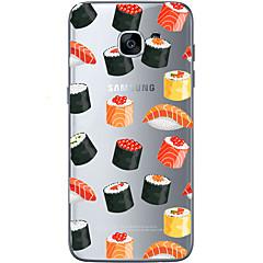 billige Galaxy S6 Etuier-Etui Til Samsung Galaxy Samsung Galaxy S7 Edge Mønster Bagcover Hjerte Blødt TPU for S7 edge S7 S6 edge plus S6 edge S6