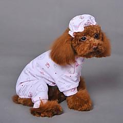 halpa Koirien vaatteet ja tarvikkeet-Kissa Koira Koiranpusero Koiran vaatteet Hengittävä Cosplay Häät Eläin Keltainen Sininen Pinkki Asu Lemmikit