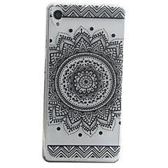 For Sony Xperia E5 XA Sunflower Pattern Material TPU Phone Case