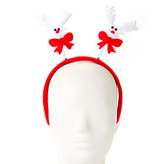 1 pc 스폰지 엘크 디자인 머리 후프 크리스마스 장식 파티 공급