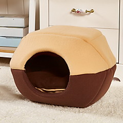 Cat Dog Bed Pet Mats & Pads Soft Brown Red Blue For Pets