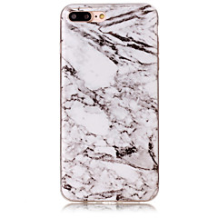 halpa iPhone kotelot-Etui Käyttötarkoitus Apple iPhone 5 kotelo iPhone 6 iPhone 7 IMD Takakuori Marble Pehmeä TPU varten iPhone 7 Plus iPhone 7 iPhone 6s Plus