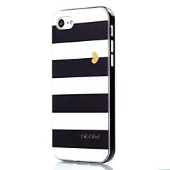 Для Кейс для iPhone 7 / Кейс для iPhone 7 Plus Защита от удара / С узором Кейс для Задняя крышка Кейс для Полосы / волосы Мягкий TPU Apple