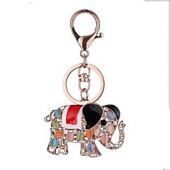 Europa și Statele Unite New sac auto-cheie fabrică cadou zi cheie de chitara realiste cheie lanț lanț de elefant pandantiv Valentine