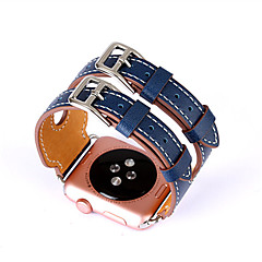 abordables Novedades-Ver Banda para Apple Watch Series 3 / 2 / 1 Apple Hebilla Clásica Cuero Auténtico Correa de Muñeca