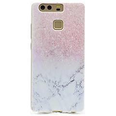 Mert Átlátszó / Minta Case Hátlap Case Márvány Puha TPU HuaweiHuawei P9 / Huawei P9 Lite / Huawei P9 Plus / Huawei P8 Lite / Huawei Honor