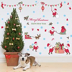 Karácsony / Divat / Ünneő Falimatrica Repülőgép matricák / Tükör falimatrica Dekoratív falmatricák,PVC Anyag Eltávolítható lakberendezési