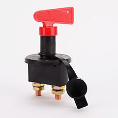 abordables Piezas para el Coche-Interruptor de aislamiento de la batería interruptor de desconexión terminal de alimentación para el barco de la furgoneta del coche