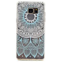Для Samsung Galaxy Note 5 синий полукруг шаблон высокая проницаемость tpu материал телефон случай