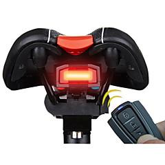 halpa Pyöräilyvalot-Polkupyörän jarruvalo LED Pyöräily Smart Hälytys Kauko-ohjain Erityiskevyet Litium-akku 100 Lumenia Akku Punainen Pyöräily