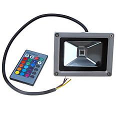 billige Udendørsbelysning-LED-projektører Bærbar Fjernstyret Dæmpbar Let Instalation Vandtæt Udendørsbelysning RGB DC 24V DC 12V