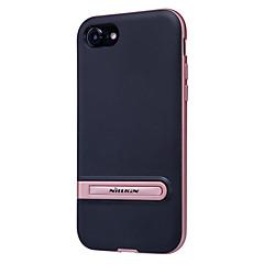 Для Защита от удара / со стендом / Матовое Кейс для Задняя крышка Кейс для Один цвет Твердый PC для Apple iPhone 7 Plus / iPhone 7