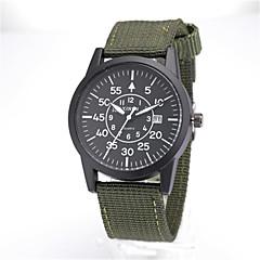 preiswerte Tolle Angebote auf Uhren-Herrn Quartz Armbanduhr Kalender / Cool Leder Band Retro / Freizeit / Modisch Schwarz / Blau / Braun / Grün