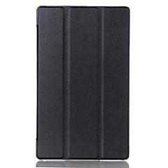 お買い得  タブレット用ケース-ケース 用途 Asus フルボディーケース / タブレットケース ソリッド ハード PUレザー のために
