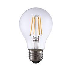 お買い得  LED 電球-GMY® 1個 350lm E26 フィラメントタイプLED電球 A60(A19) 4 LEDビーズ COB 調光可能 温白色 110-130V