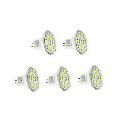 3W GU4(MR11) Ampoules à Filament LED 12 diodes électroluminescentes SMD 5730 Blanc Chaud Blanc Froid 250-300lm 3500/6000K DC 12V