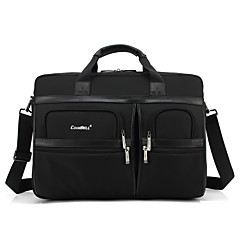 15,6 a 17,3 pulgadas bolso de mano de múltiples compartimientos a prueba de golpes de hombro del ordenador bolsa para dell / hp / Sony /