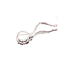 お買い得  ボディージュエリー-アンクレット - 銀メッキ オリジナル, ファッション 用途 日常 女性用