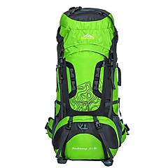 hesapli -75 L Sırt Çantası Paketleri Bisiklet Sırt Çantası sırt çantası Tırmanma Serbest Sporlar Kamp & Yürüyüş Seyahat Su Geçirmez Nefes Alabilir