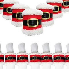 Χαμηλού Κόστους -Χριστούγεννα ζώνη 4pcs δαχτυλίδι πόρπη χαρτοπετσέτα