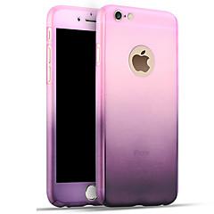 Недорогие Кейсы для iPhone 6-Кейс для Назначение Apple iPhone 8 iPhone 8 Plus iPhone 6 iPhone 7 Plus iPhone 7 Защита от удара Кейс на заднюю панель Градиент цвета