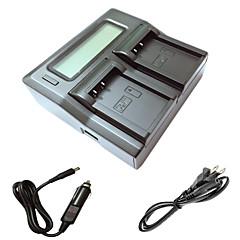 ismartdigi lpe17 lcd double chargeur avec câble de charge de voiture pour Canon EOS 750D m3 de Accus 760D de l'appareil photo