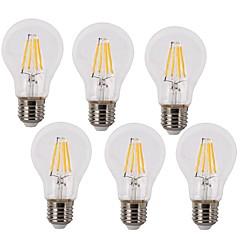 E26/E27 Lampadine LED a incandescenza A60(A19) 4 leds COB Impermeabile Decorativo Bianco caldo Luce fredda 2700/6500lm 2700k/6500K AC