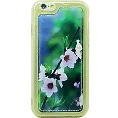Для Защита от удара Кейс для Задняя крышка Кейс для Цветы Мягкий Искусственная кожа Apple iPhone 6s/6